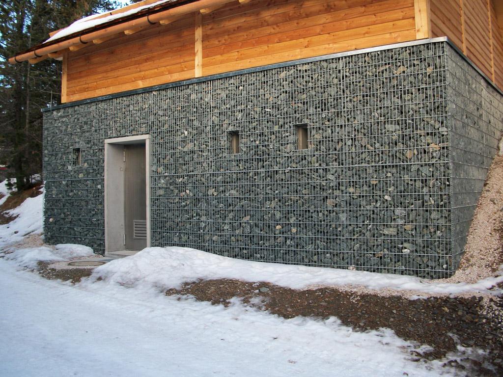 Pichler Gabionen Steinkoerbe und Zäune